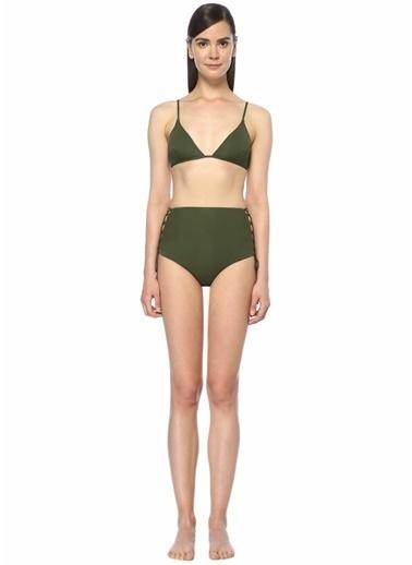 Melissa Odabash Yüksek Bel Bikini Takım Haki